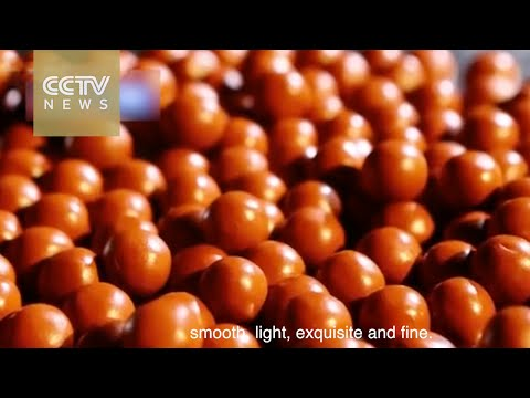China's craftsmen: Making traditional Chinese medicine boluses