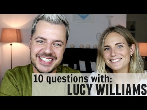 10 Questions with LUCY WILLIAMS from FASHION ME NOW | PART 1