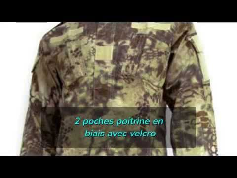 Chemise uniforme scout - Carrick France