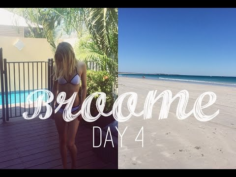 Broome Vlog Day 4 | Markets, Cable Beach, Sun Cinema