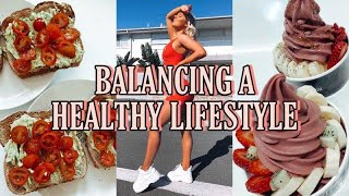 Maintaining a healthy lifestyle with busy work life & always on the go!