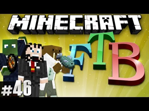 Minecraft Feed The Beast #46 - Totally Bore-ing