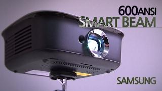 엄청 밝은 안드로이드 PC 겸용 미니빔 프로젝터 삼성 600안시 스마트빔