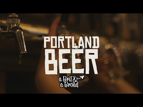 Beer in Portland, USA