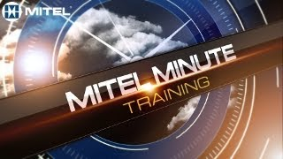 Mitel® Minute Training: 6863i How to select Live Dialpad