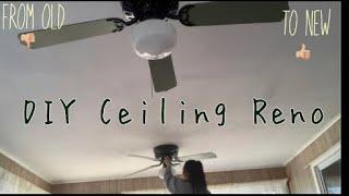 DIY Ceiling Fan Reno