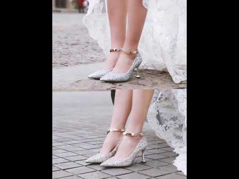 sparkly-rose-gold-sequins-wedding-shoes