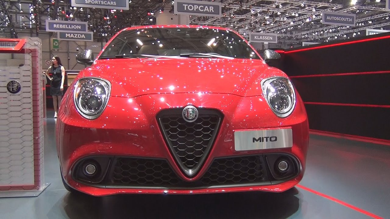 alfa romeo mito veloce 1 4 170 hp tct alfa red 2017 exterior and interior in 3d youtube. Black Bedroom Furniture Sets. Home Design Ideas
