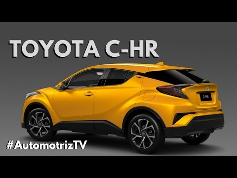 2017 Toyota C-HR ¿Superior al Honda HR-V?