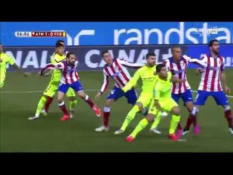 Atletico Madrid vs FC Barcelona [2-3] - Copa Del Rey 14/15 -HD-