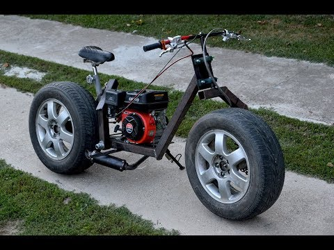 Homemade 200cc MOTORCYCLE