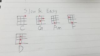 『Slow & Easy』を練習しました。