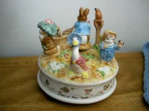 Beatrix Potter music box.AVI