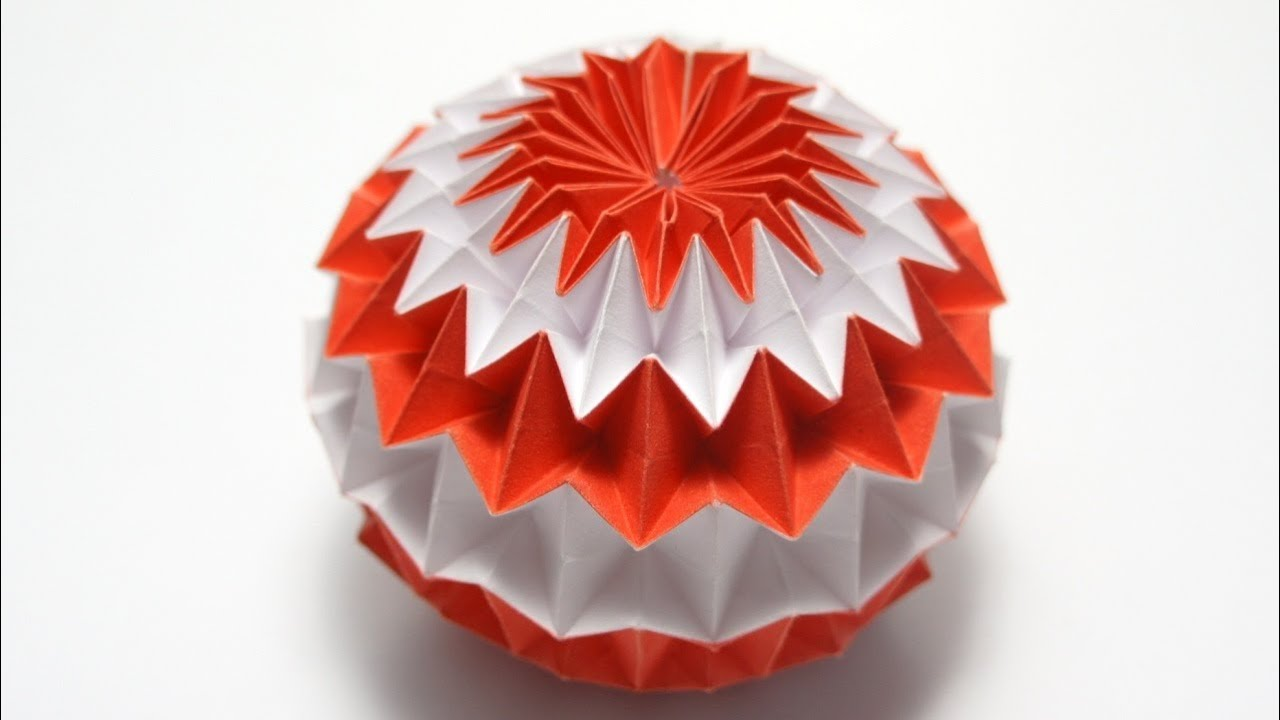 tutorial origami magic ball