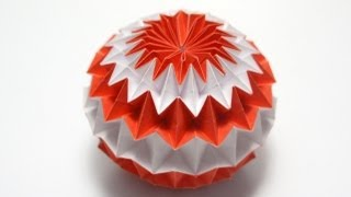 Repeat youtube video Origami Magic Ball (Dragon's Egg by Yuri Shumakov)