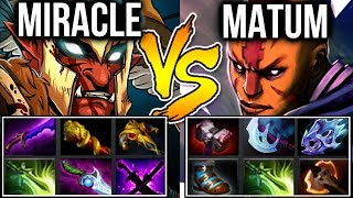 Miracle- vs Matumbaman - Battle of Carry Team Liquid Dota2