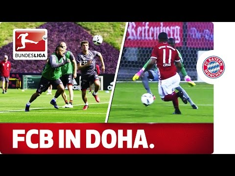 FC Bayern in Qatar - Training and Fun in the Sun