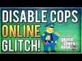 GTA 5 Glitches: DISABLE COPS Online Glitch! Turn Off Police! (Blind Eye Glitch Tutorial)