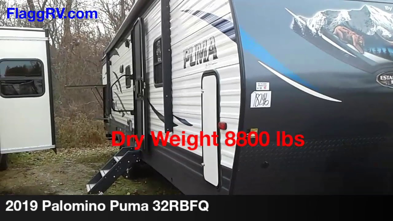 New 2019 Palomino Puma 32RBFQ Travel Trailer at Flagg RV | W
