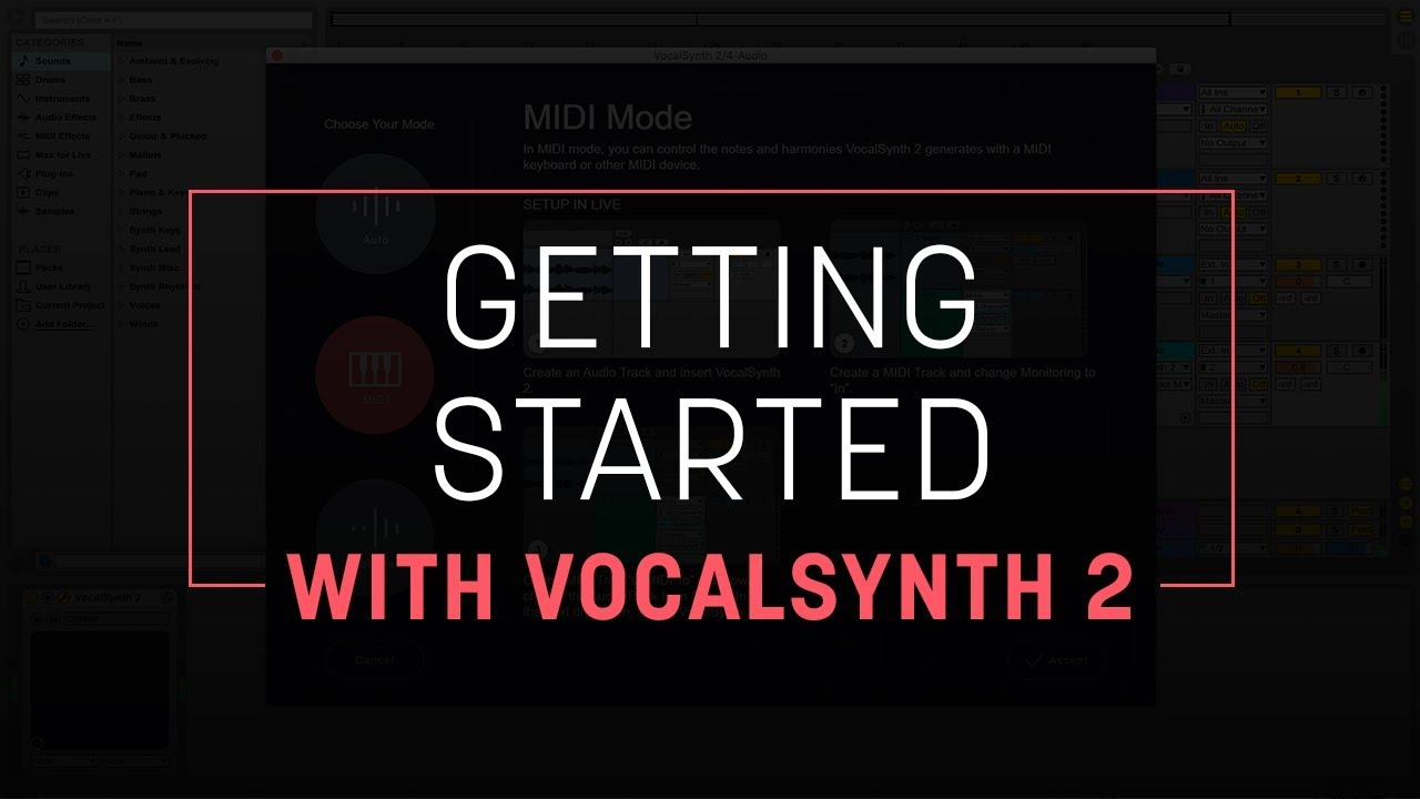 Getting Started with VocalSynth 2