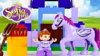 Disney Princess Sofia The First Duplo Royal Stable Lego Toys Episodios Princesa Legos DCTC