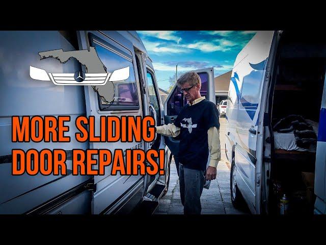 Balancing & Replacing Sliding Door Cable - T1N Sprinter Sliding Door Repairs Pt. 2