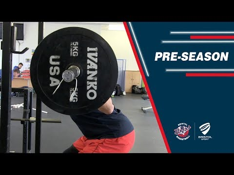 Flyers Pre-season: Weight room training