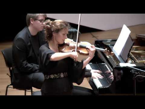 Ernest Chausson, Poème Op.25 (Sandrine Cantoreggi violin - Connie Shih piano)