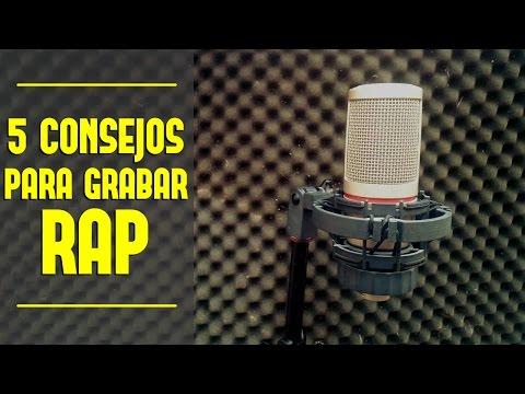 5 CONSEJOS PARA GRABAR RAP | Como mejorar tus grabaciones en tu home studio
