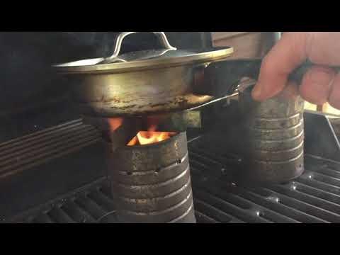 Make a Wood Gas stove