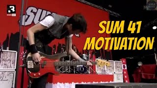 Gambar cover Sum 41 - Motivation and 88 Live (2016)