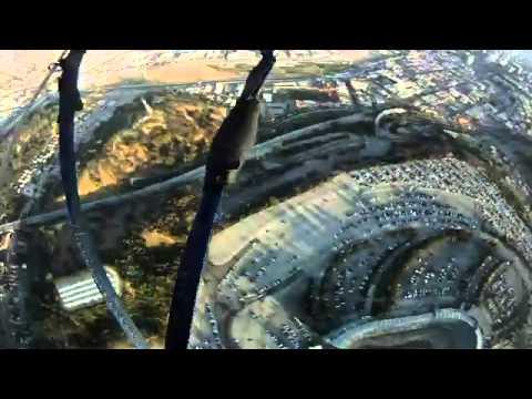 Navy Seals drop into Dodger Stadium