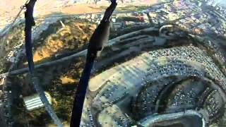 Repeat youtube video Navy Seals drop into Dodger Stadium