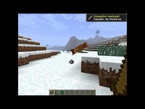 Download Minecraft como matar um creeper fácil !