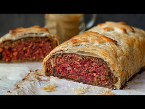VEGAN NUTLOAF WELLINGTON | VEGAN CHRISTMAS DINNER