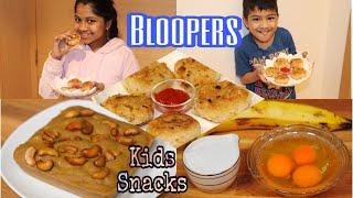 BLOOPERS ~ BEHIND THE SCENES   KIDS TIFFIN BOX RECIPES   KID…