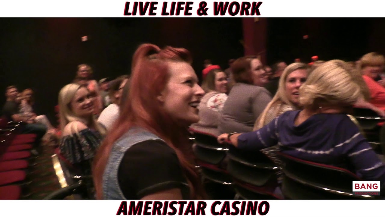 LIVE LIFE & WORK: AMERISTAR CASINO FEATURING CATFISH COOLEY! LOL FUNNY COMEDY LAUGH COMEDIANS