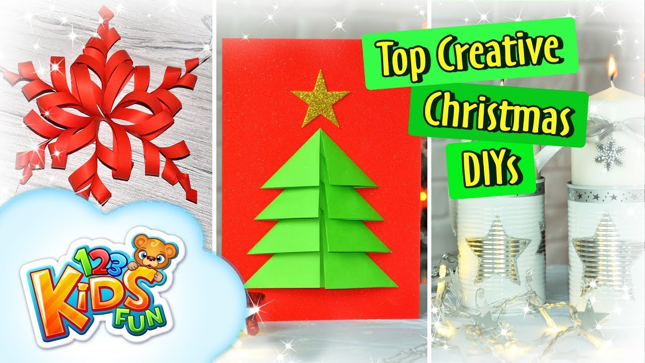 Best Christmas Cards.Diy By Creative Mom Best Christmas Diy Ideas 3d Christmas Card
