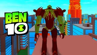 BEN 10 VILGAX OVER POWERED! Roblox Ben 10 Arrival of Aliens