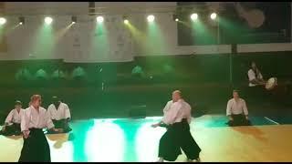 Aikido demonstration, Martial Arts Gala, Paris