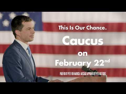 "Pete Buttigieg Official 2020 President 2/"" Logo Campaign Pin Button New Hampshire"