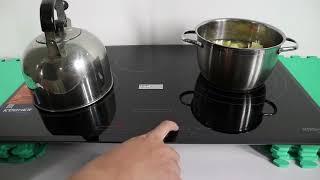 Đánh giá bếp từ Kocher DI-855GE nhập khẩu Đức tích hợp inverter và siêu booster