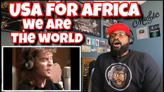 USA For Africa - We Are The World | REACTION