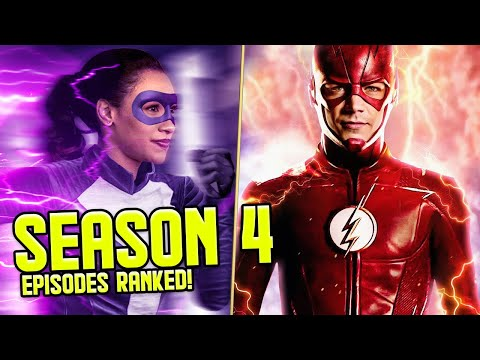 The Flash: Season 4 Episodes RANKED!