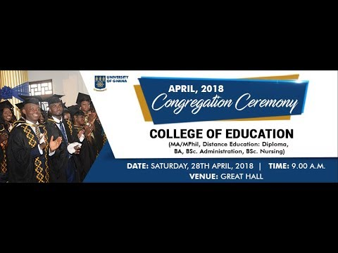 UG April 2018 Congregation Ceremony