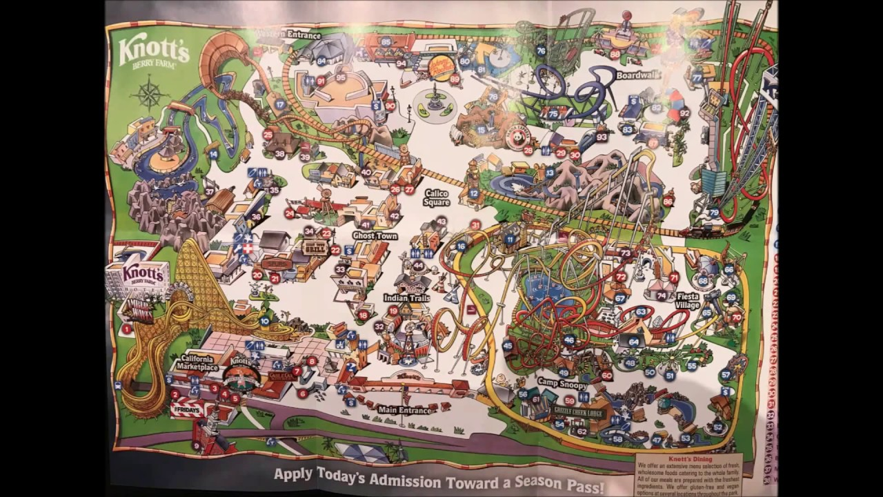Knott's Berry Farm Maps Over the Years! Video #1 - See Video #2 its on disneyland map, oceans of fun map, legoland map, universal studios hollywood map, pink's hot dogs map, mt. olympus water & theme park map, kings dominion map, adventure city map, cedar point map, carowinds map, kings island map, ghost town in the sky map, california adventure map, magic kingdom map, kentucky kingdom map, islands of adventure map, wonderland park map, magic mountain map, canada's wonderland map, six flags map,