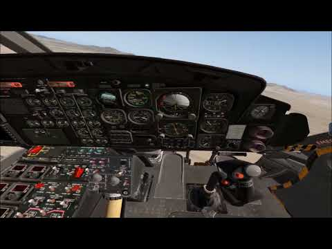 Accuracy Flight Test - XP X-Trident Bell 412 Joe - Part 1 flight dynamics