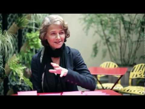 Charlotte Rampling, entretien vidéo