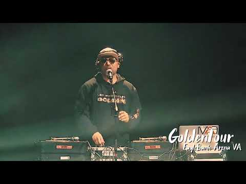 Dj Mad. GoldenTour at EagleBanArena Fairfax VA 03 10 18