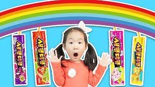 새콤달콤 사탕으로 무지개 쥬스를 만들 수 있다고?? Pretend Play candy store 마슈토이 Mashu ToysReview